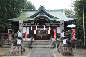 阿遅速雄神社(鶴見区放出)8