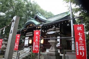 阿遅速雄神社(鶴見区放出)9