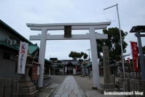 船待神社(堺市堺区西湊町)1