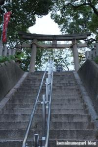 鋸尾八幡神社(堺市西区津久野町)3