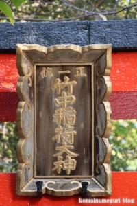 竹中稲荷神社(左京区吉田神楽岡町)5