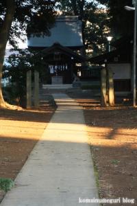 大間木氷川神社(さいたま市緑区東浦和)4