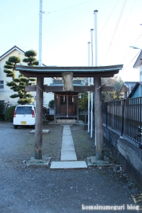 羽黒神社(川口市東内野)1