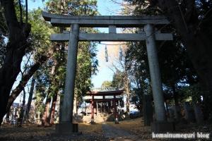 氷川神社(さいたま市南区太田窪)2