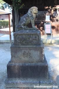 鶴ケ丸八幡神社(川口市芝)22