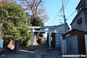氷室神社(川口市芝)1