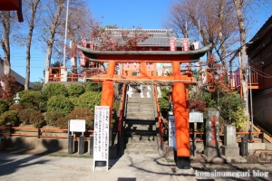 塚越稲荷神社(蕨市塚越)6
