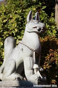 塚越稲荷神社(蕨市塚越)11