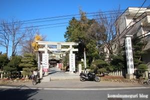 氷川神社(川口市青木)1