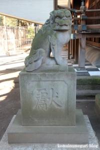 川口神社(川口市青木)24