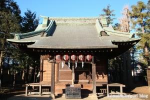市杵島神社(小金井市梶野町)10