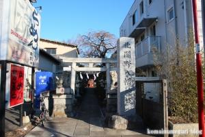 北関野八幡神社(小金井市関野町)1