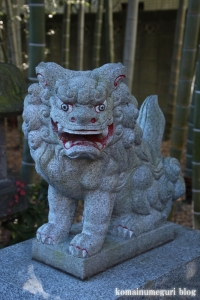 上宮大澤神社(小金井市貫井南町)2