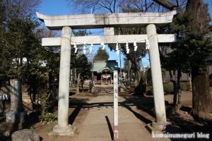 内藤神社(国分寺市日吉町)4