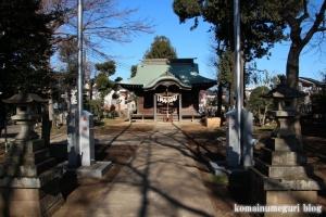 内藤神社(国分寺市日吉町)5