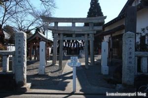 戸倉神社(国分寺市戸倉)1