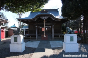 戸倉神社(国分寺市戸倉)7