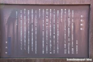 五社神社(南埼玉郡宮代町東)4