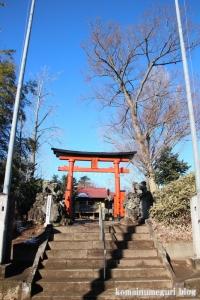 五社神社(南埼玉郡宮代町東)1