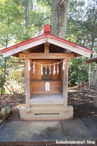 五社神社(南埼玉郡宮代町東)13