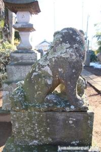 五社神社(南埼玉郡宮代町東)29