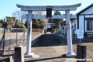 香取神社(北葛飾郡杉戸町堤根)2