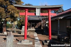 諏訪神社(北葛飾郡杉戸町堤根)2