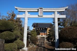 雷電神社(北葛飾郡杉戸町本郷)2