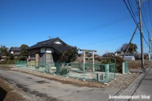 大日神社(北葛飾郡杉戸町堤根)1