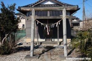 大日神社(北葛飾郡杉戸町堤根)2