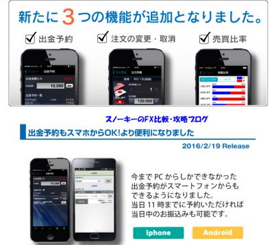 みんなのFXスマートフォンアプリ