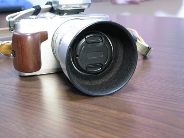 レンズフード装着 EPL-5 1