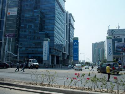 インド ビジネス街