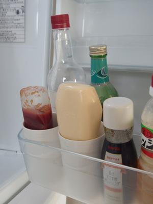冷蔵庫扉 収納
