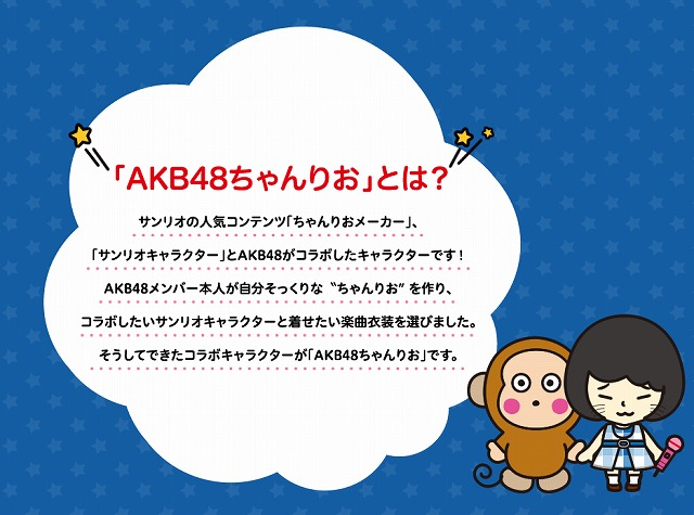 【AKBちゃんりお】AKBとサンリオがコラボ!