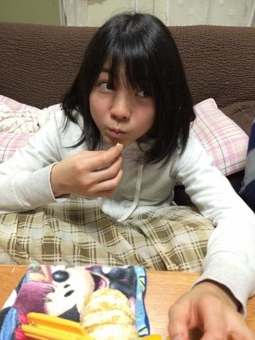 パクッと食べたら、うん!美味しい!!