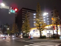 角栄@代々木・20151229・交差点