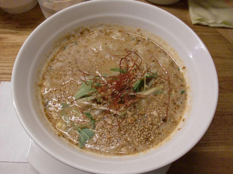 金蠍@神谷町・20160214・金胡麻担担麺
