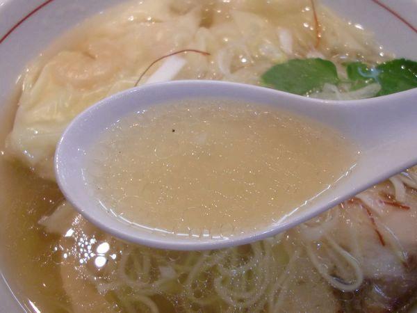 くろおび@大門・20160301・スープ
