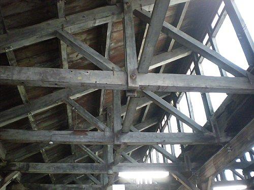 トチセン・捺染工場天井