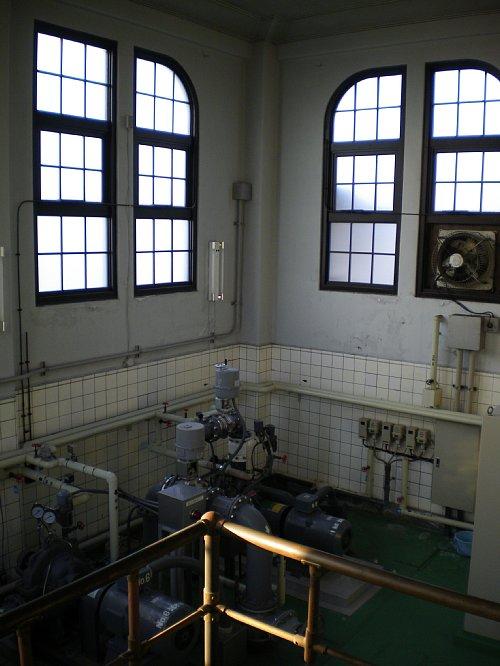今福浄水場・ポンプ室4