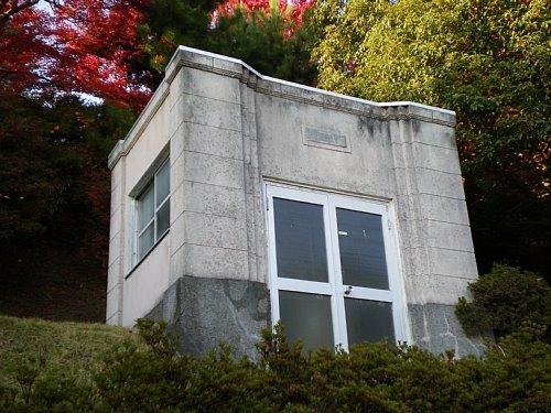 緑町配水場・水量計室