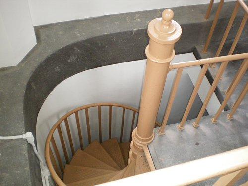 横浜市開港記念館・時計塔階段4