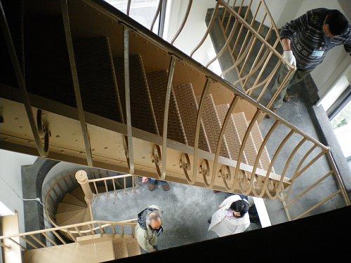 横浜市開港記念館・時計塔階段6