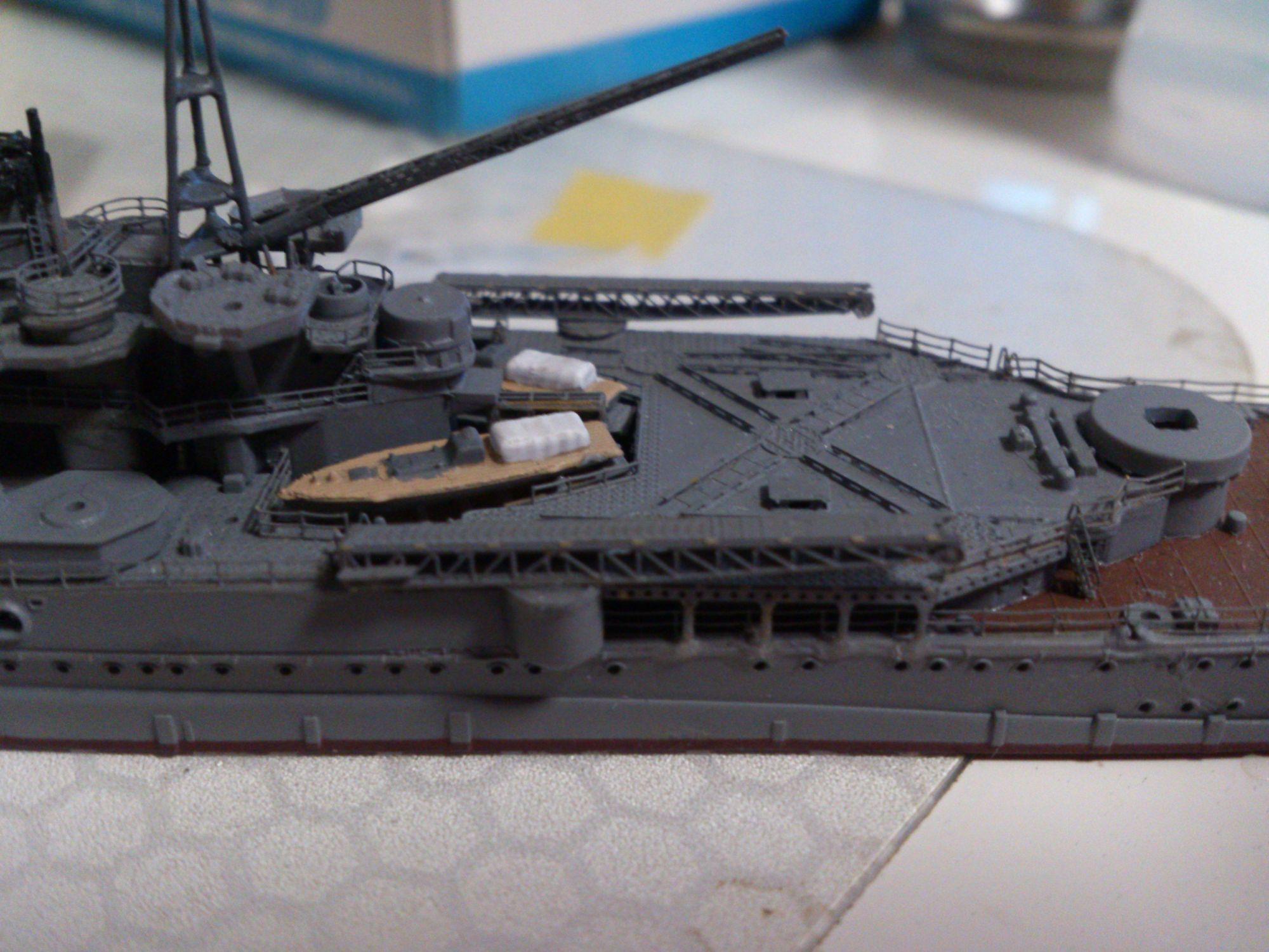 摩耶 水上機甲板