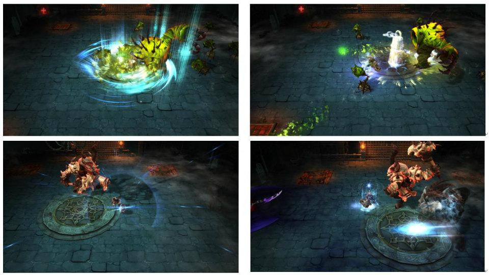 基本プレイ無料のハック&スラッシュRPG『ダンジョンストライカー』 新ジョブ「ウォープリースト」実装するよ!ハンマーと神聖な力を使い最前線で活躍