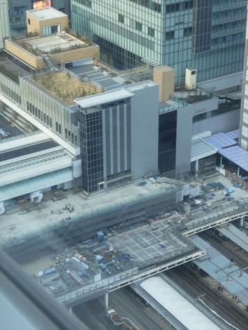 JR 新宿駅 新南口
