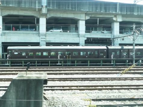 JR 高崎駅 留置線の客車