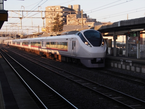 JR 常磐線 E657系 電車 特急 ひたち1号