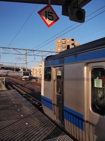 JR 常磐線 E531系 電車【藤代駅】